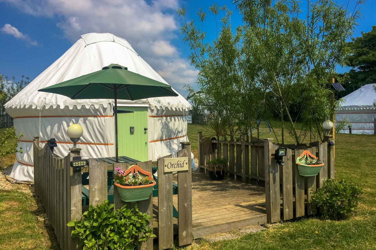 Click here for more about Orchid Yurt