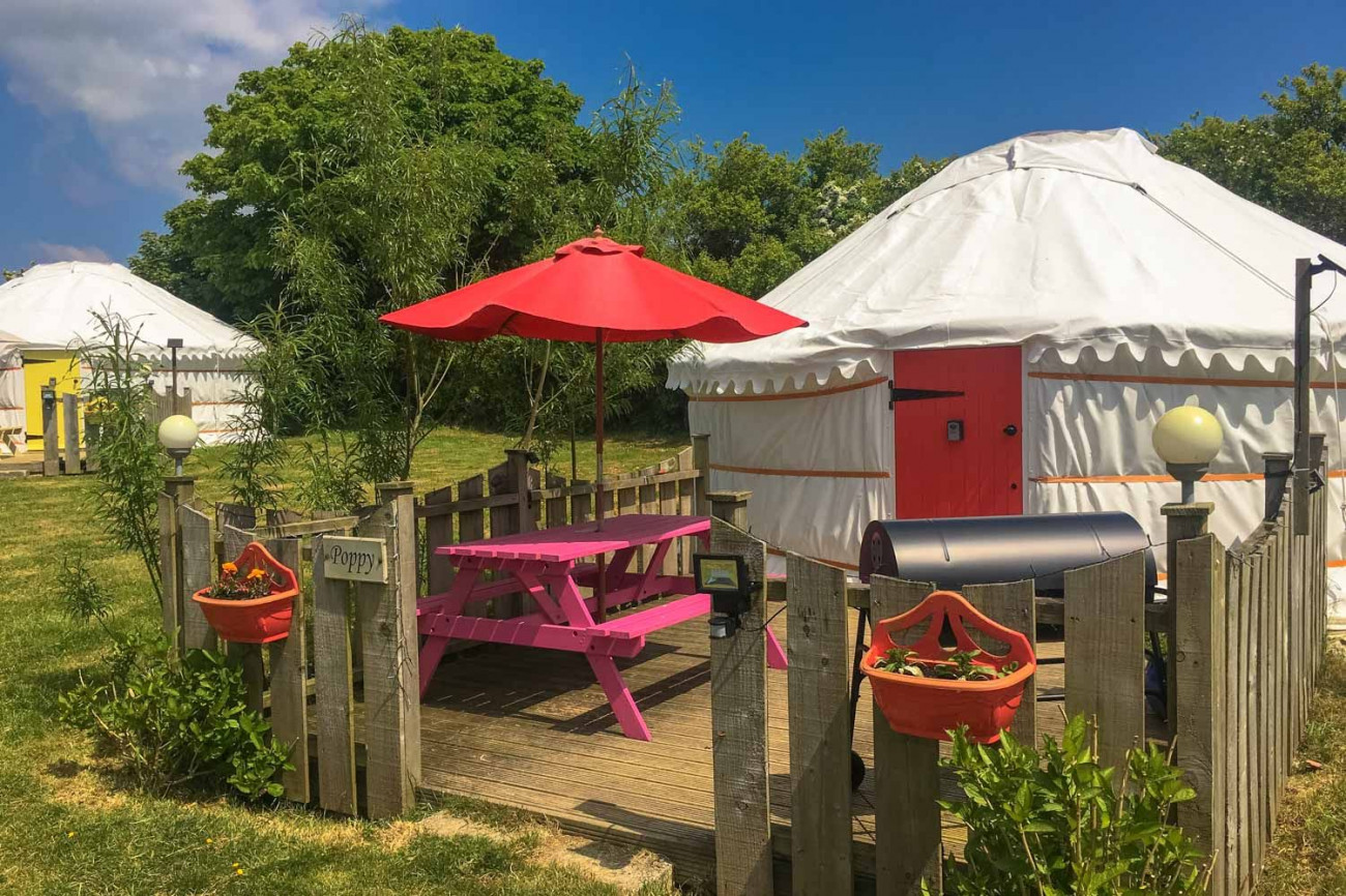 Click here for more about Poppy Yurt